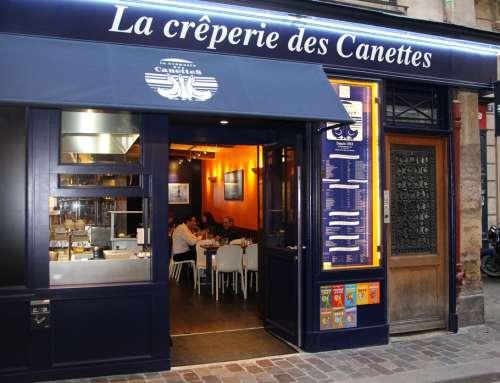 La Crêperie des Canettes – creperia em Paris!