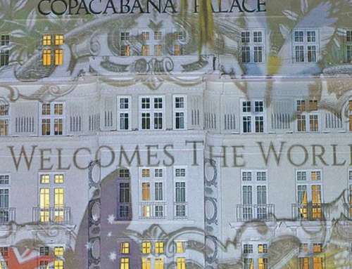 Copacabana Palace – Projeção borboletas da Kristjana S. W