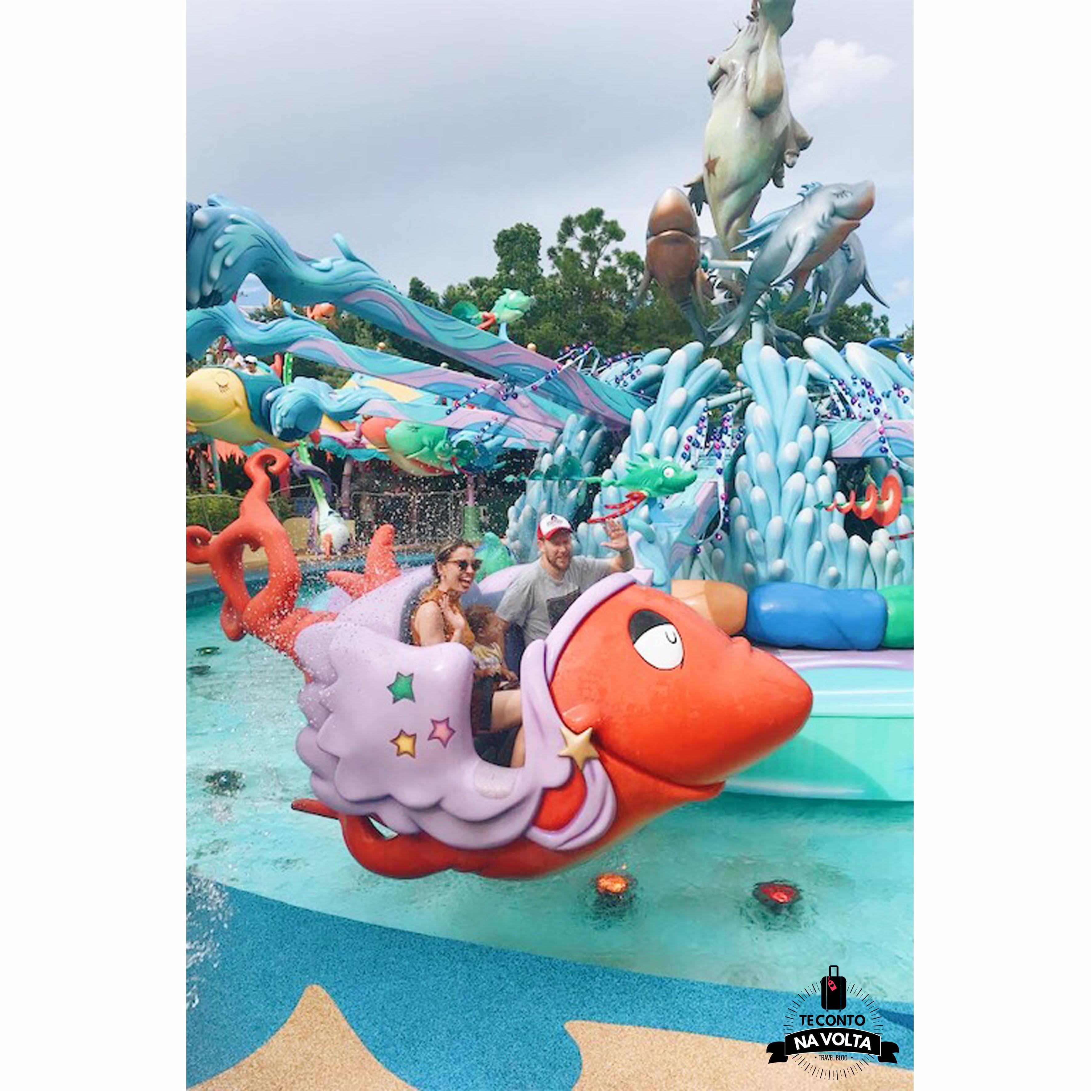 Island of Adventure atrações para bebê